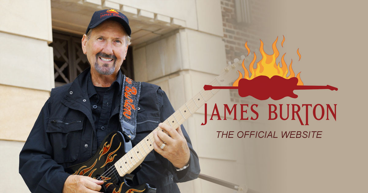 The Official James Burton website